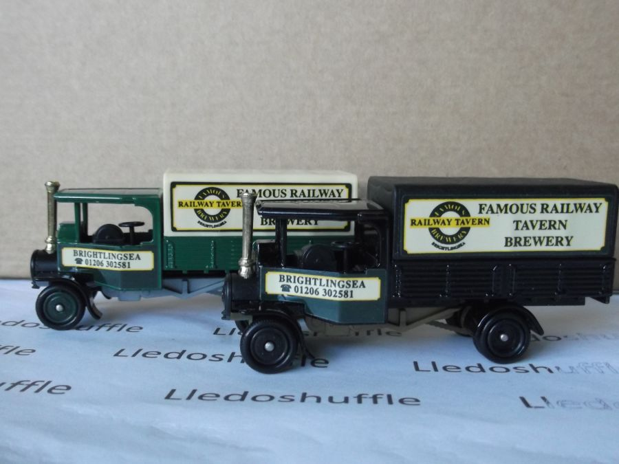 Code 3, PV091, Foden Steam Wagon, Famous Railway Tavern Brewery, Brightlingsea