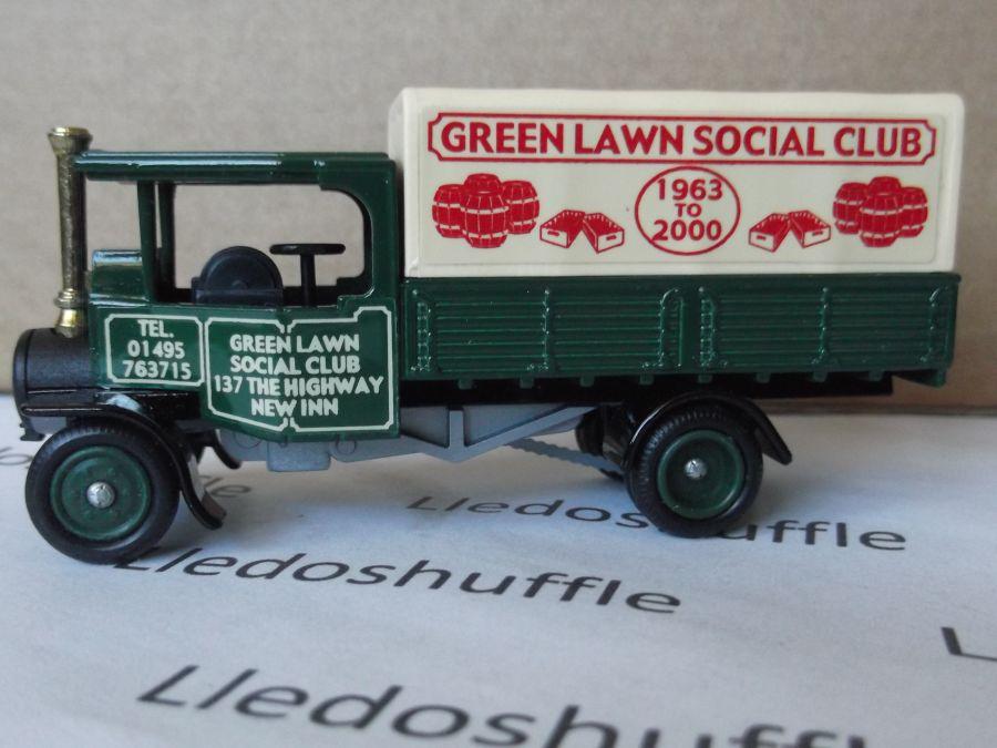 Code 3, PV091, Foden Steam Wagon, Green Lawn Social Club, Pontypool