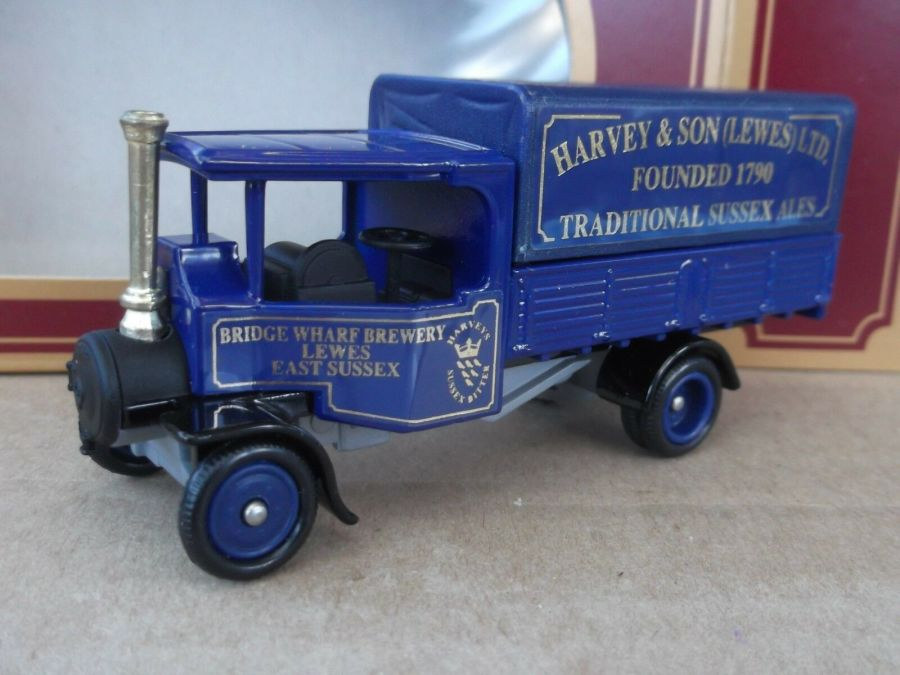 Code 3, PV091, Foden Steam Wagon, Harvey & Son (Lewes) Ltd, Traditional Sussex Ales
