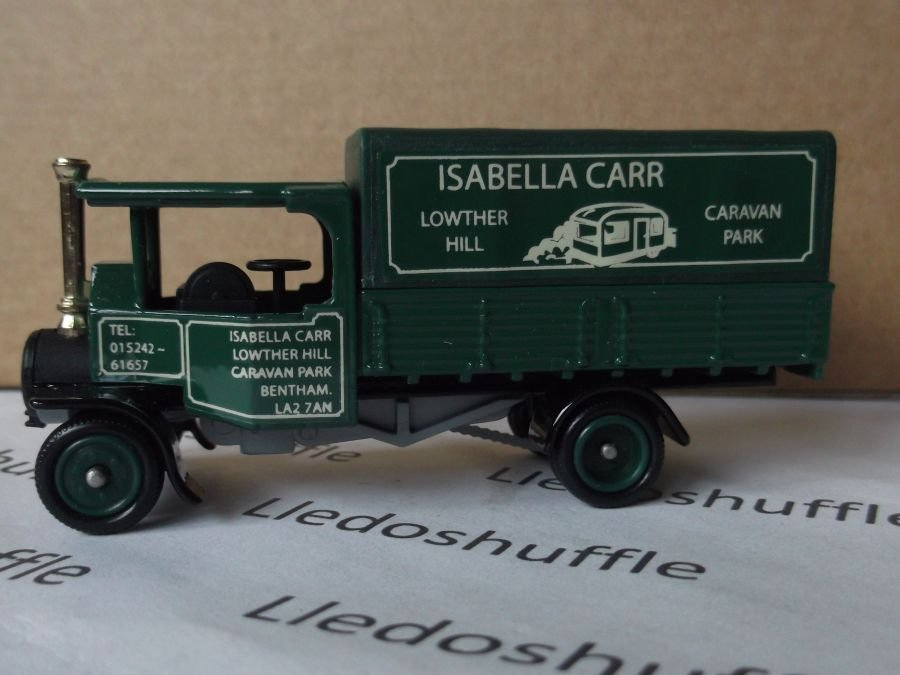 Code 3, PV091, Foden Steam Wagon, Isabella Carr, Lowther Hill Caravan Park, Bentham