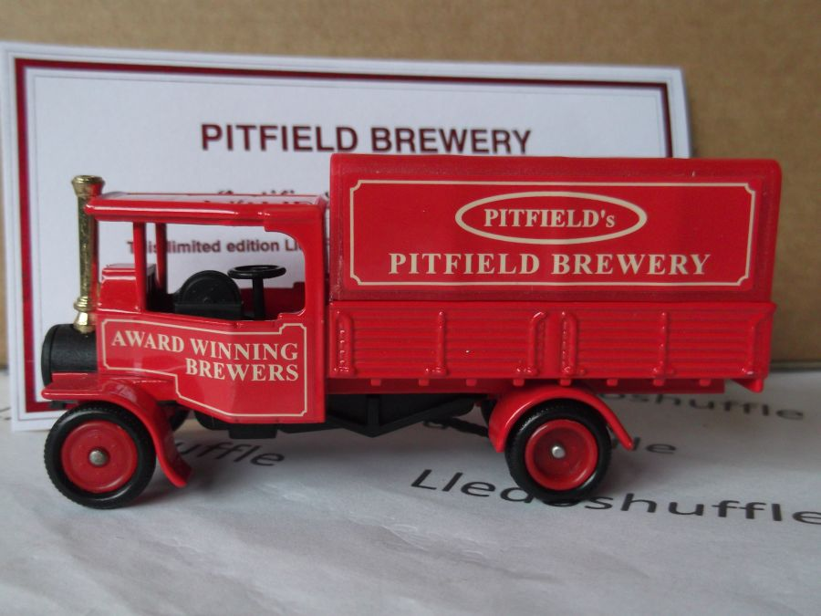 Code 3, PV091, Foden Steam Wagon, Pitfield Brewery