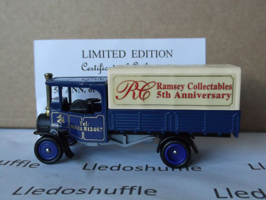 Code 3, PV091, Foden Steam Wagon, Ramsey Collectables 5th Anniversary