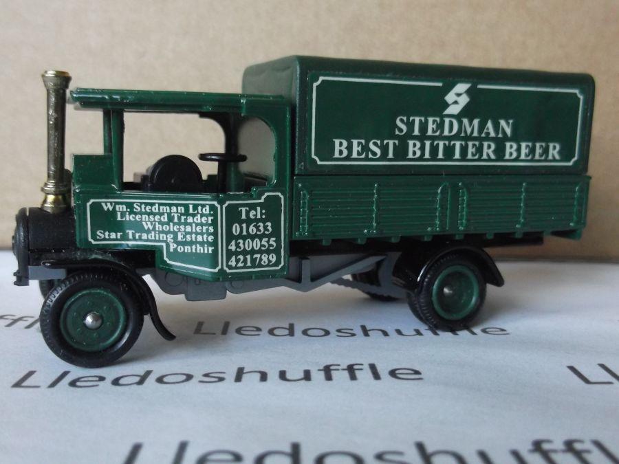 Code 3, PV091, Foden Steam Wagon, Stedman Best Bitter Beer, Ponthir