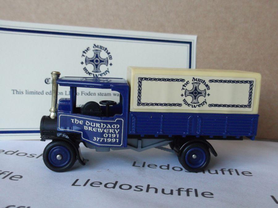 Code 3, PV091, Foden Steam Wagon, The Durham Brewery