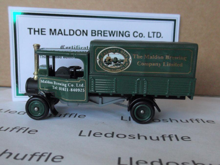 Code 3, PV091, Foden Steam Wagon, The Maldon Brewing Company Ltd