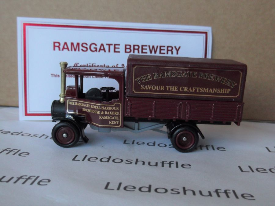 Code 3, PV091, Foden Steam Wagon, The Ramsgate Brewery