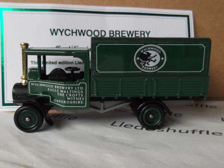 Code 3, PV091, Foden Steam Wagon, Wychwood Brewery, Witney