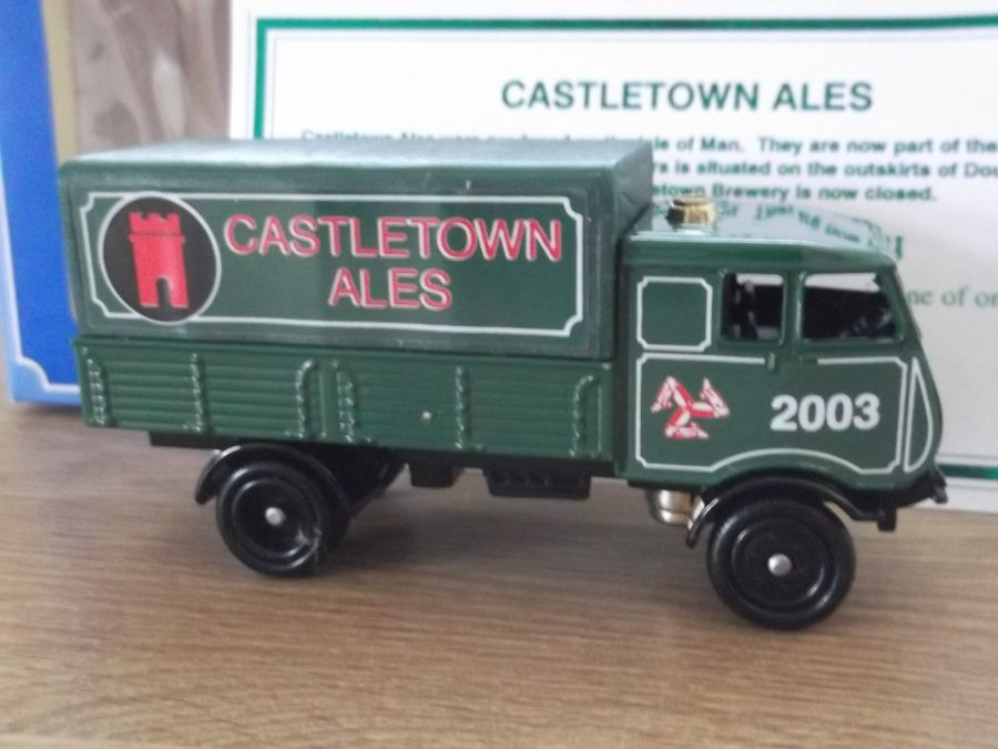 Code 3, PV097, S4 Sentinel 4w Steam Wagon, Castletown Ales 2003