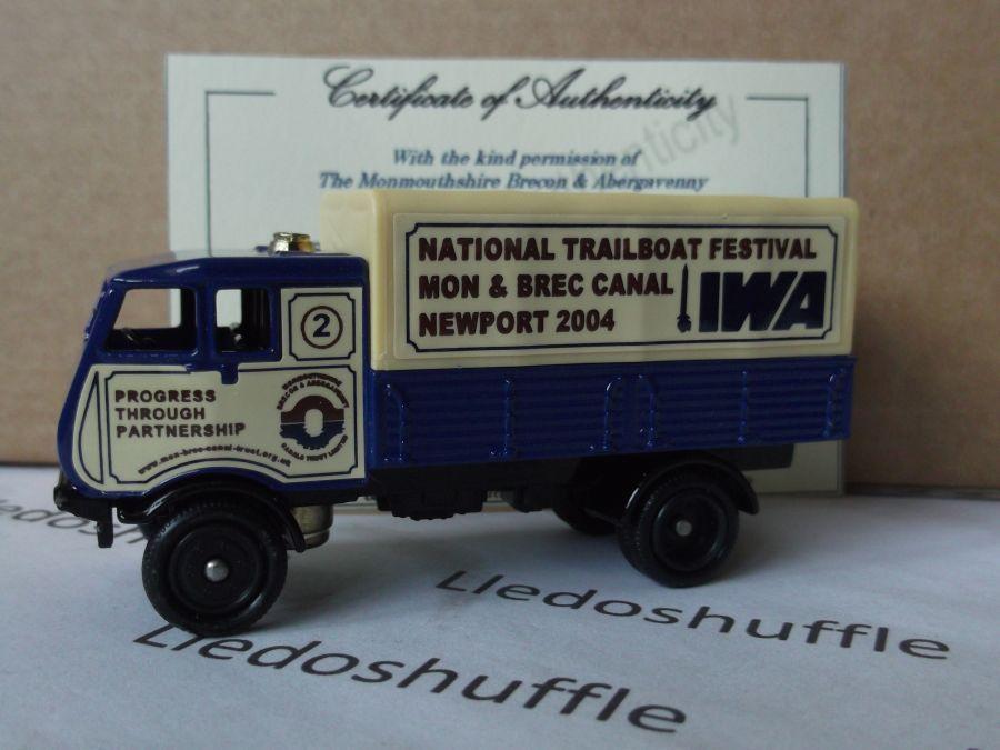 Code 3, PV097, S4 Sentinel 4w Steam Wagon, National Trailboat Festival, Newport 2004