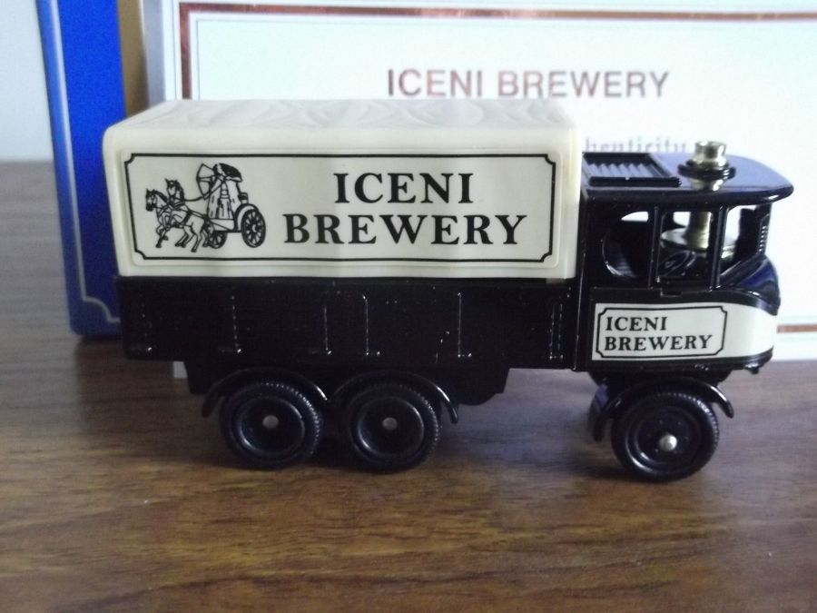 Code 3, PV101, Sentinel 6w Steam Wagon, Iceni Brewery, Norfolk, 10th Anniversary