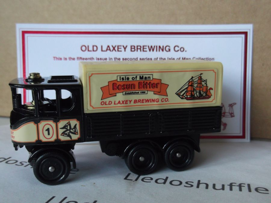 Code 3, PV101, Sentinel 6w Steam Wagon, Old Laxey Brewing Co, Bosun Bitter