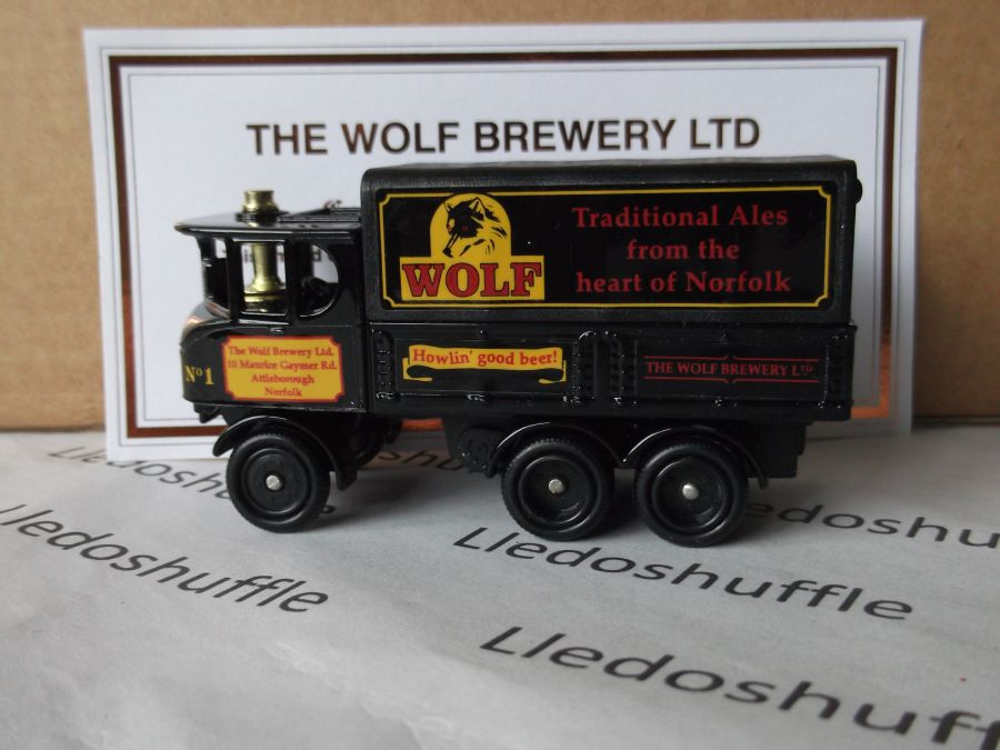 Code 3, PV101, Sentinel 6w Steam Wagon, The Wolf Brewery, Attleborough, Norfolk