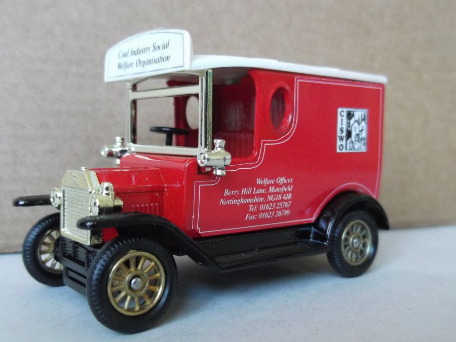 Code 3, SP06, Model T Ford Van, CISWO (Coal Industry Social Welfare)