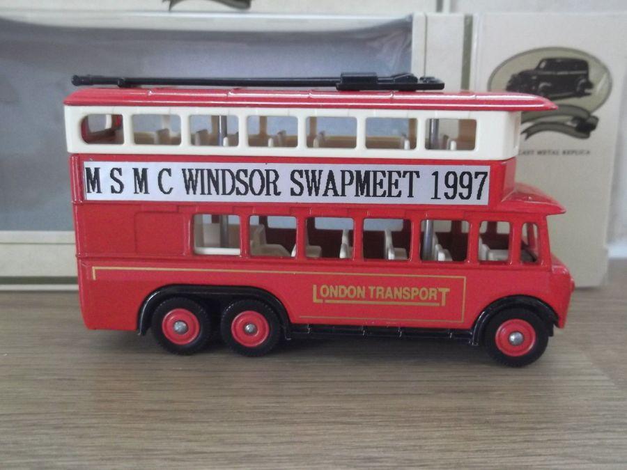 Code 3, SP41, Karrier E6 Trolley Bus, London Transport, MSMC Windsor Swapmeet 97