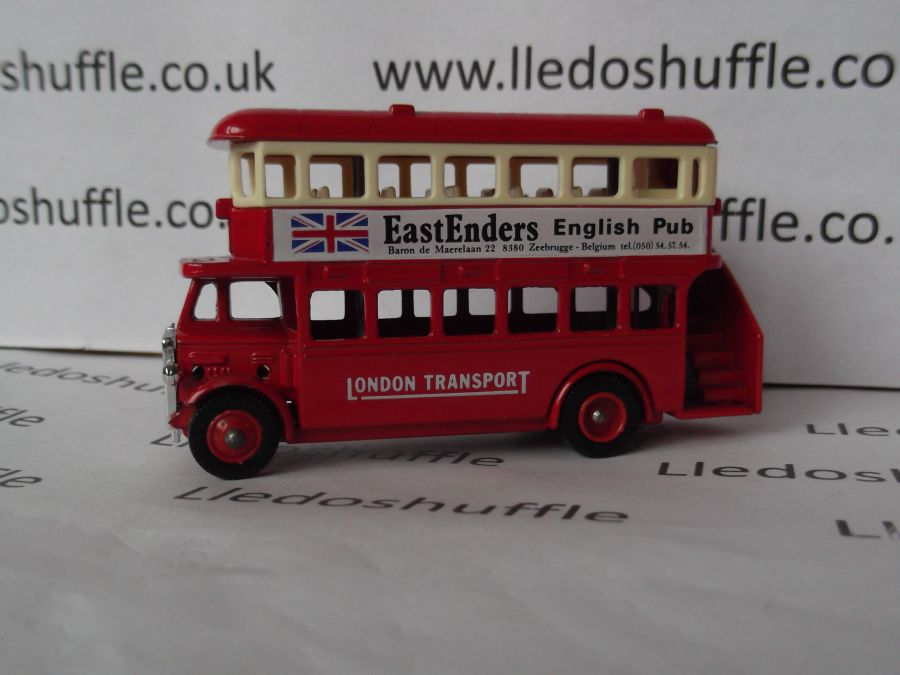 Code 3, AEC Regent Bus, London Transport / Eastenders English Pub