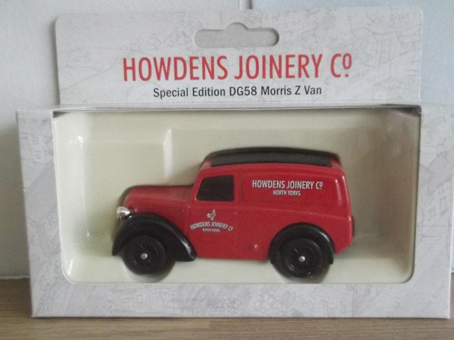 Code 3, LP58, Morris Z Van, Howdens Joinery