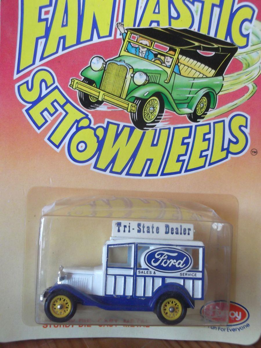 DG07, Model A Ford Woody Wagon, F2A - Tri State Dealer