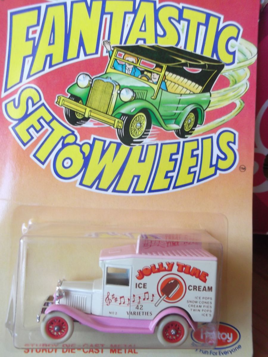 DG13, Model A Ford Van, F6A - Jolly Time Ice Cream