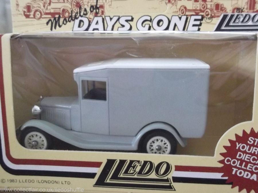DG13, Model A Ford Van, The Grey Series