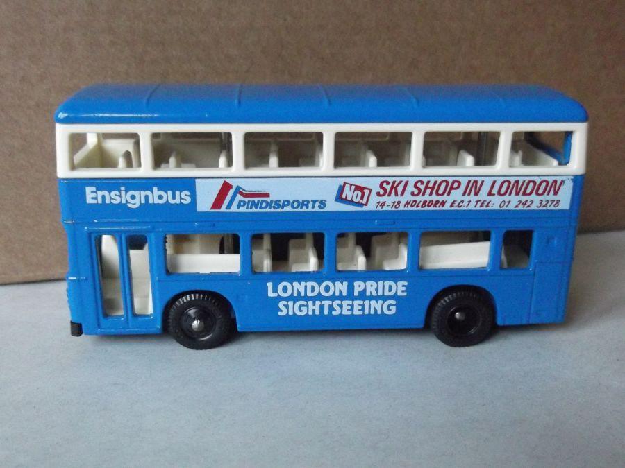 M1001b, Leyland Olympian, London Pride Sightseeing Bus, Pindisports