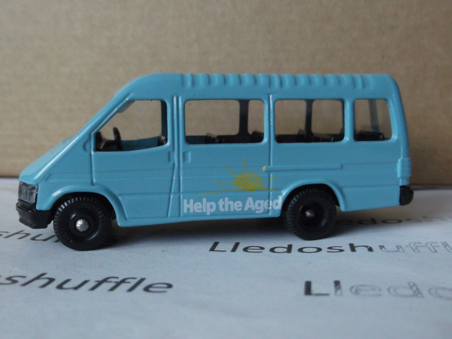 PM100007, Ford Transit Mini Bus, Help the Aged