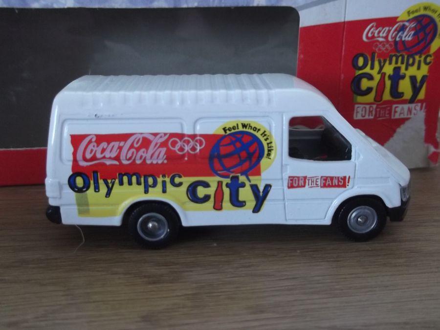 PM105013, Ford Transit Van, Coca Cola Olympic City