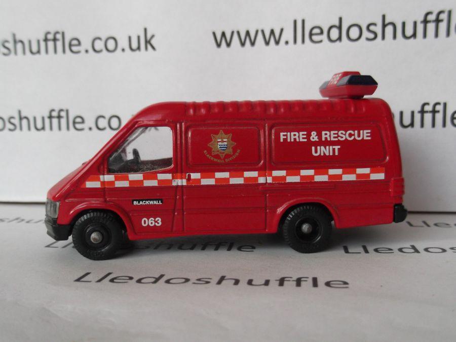 PM105042, Ford Transit Van, London's Burning, Blackwall