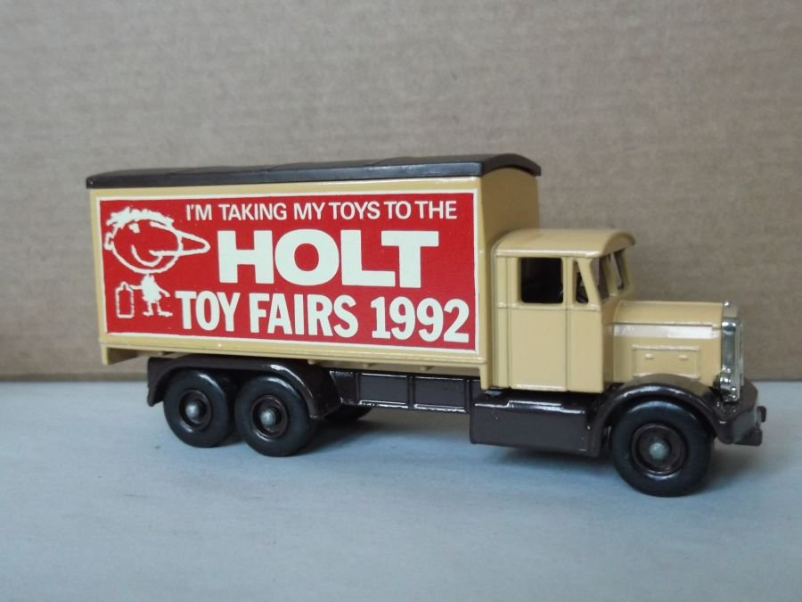 Code 3, LP44, Scammell 6w Truck, Holt Toy Fair 1992