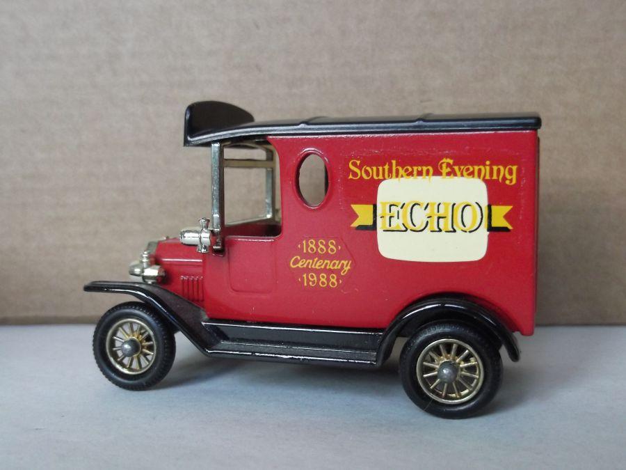 Code 3, DG06, Model T Ford Van, Southern Evening Echo Centenary 1988