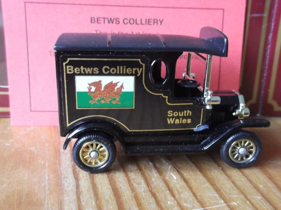 Coal from the Valleys 01st Issue, PV006, Model T Ford Van, Betws Colliery
