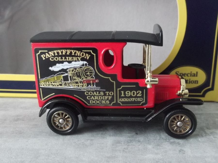 Code 3, PV006, Model T Ford Van, Pantyffynon Colliery