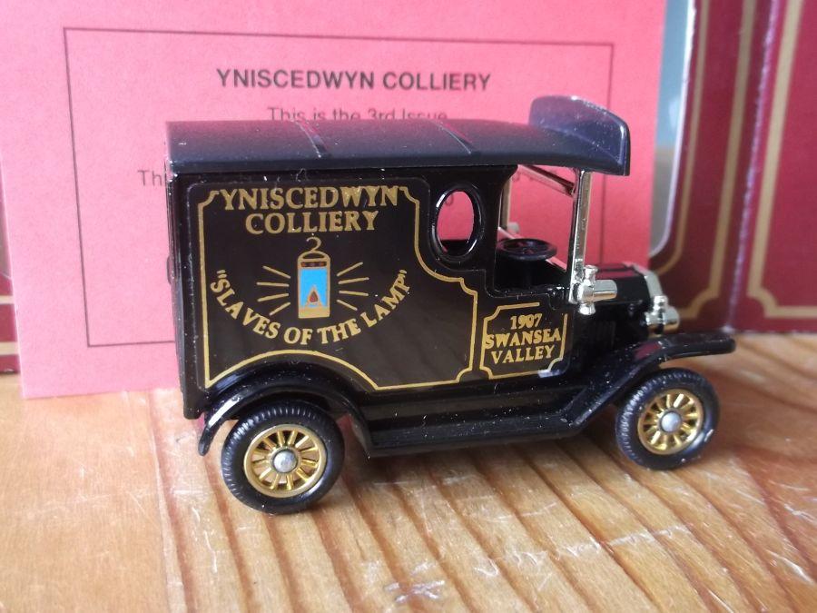 Coal from the Valleys 03rd Issue, PV006, Model T Ford Van, Yniscedwyn Colliery
