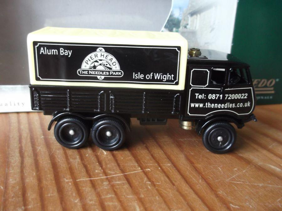 Code 3, PV81, Sentinel Steam Wagon, Pier Head, The Needles Park, Alum Bay, Isle of Wight