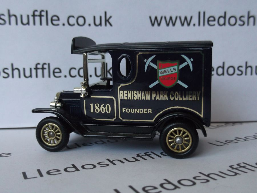 Code 3, SP06, Model T Ford Van, Renishaw Park Colliery