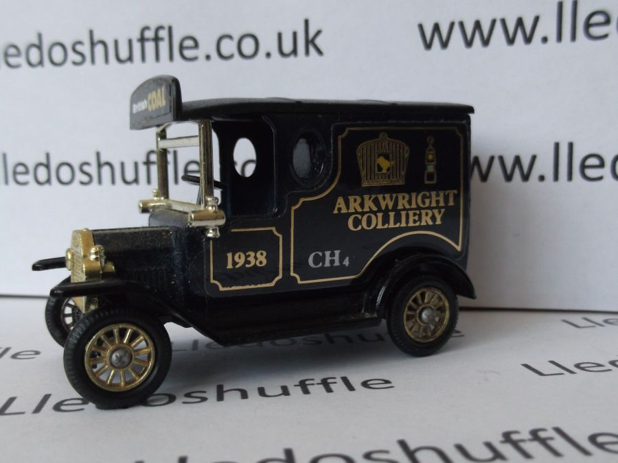 SP06076, Model T Ford Van, Arkwright Colliery, 4th Issue