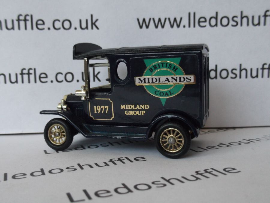 SP06121, Model T Ford Van, British Coal, Midlands Group