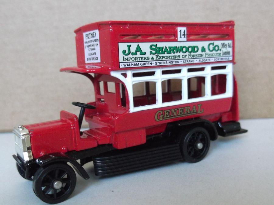 DG144001, B Class Bus (Ole Bill), J A Sharwood & Co