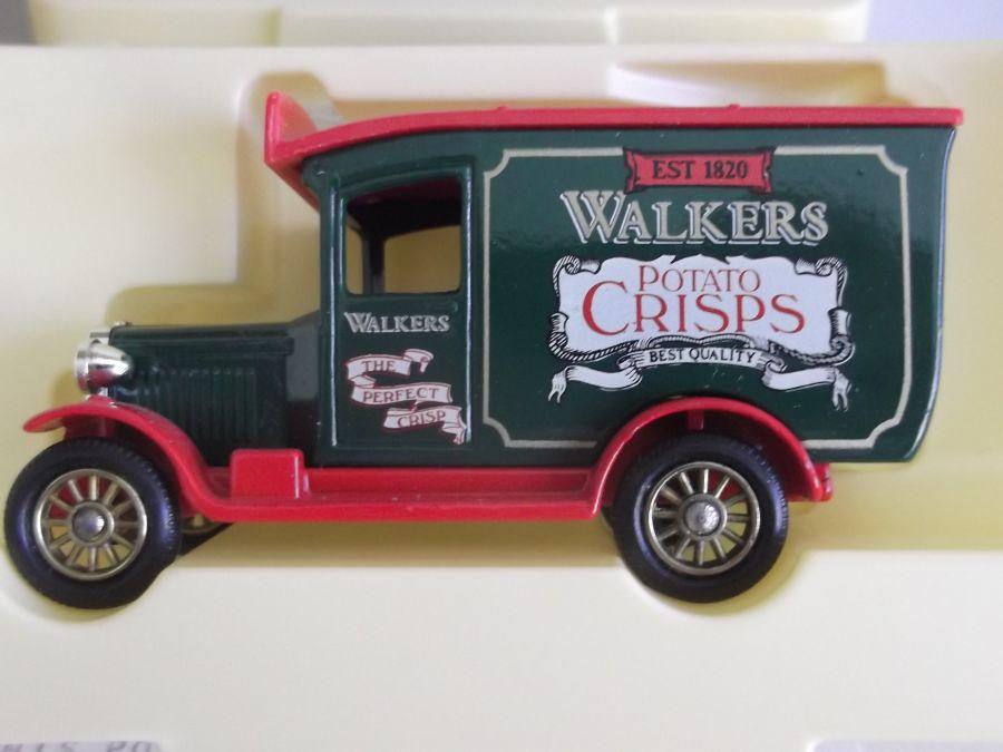 LP21078, Chevrolet Van, Walkers Crisps