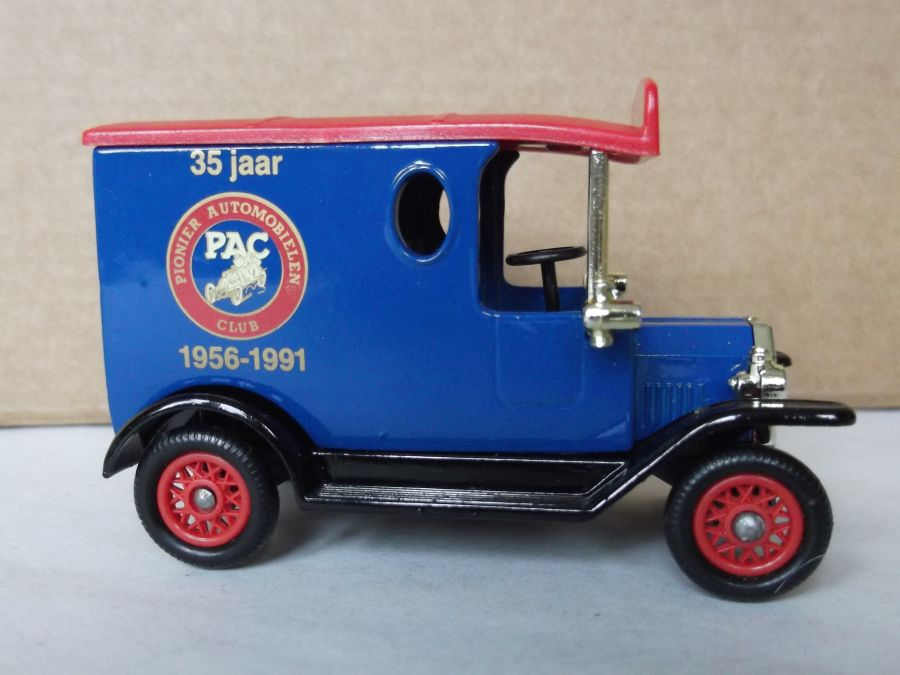 LP06337, Model T Ford Van, PAC, Pionier Automobielen Club, 35 jaar