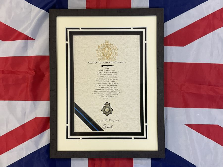 oath of office police constable