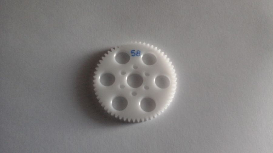 32DP acetal 1/5th scale motor bike spur gear