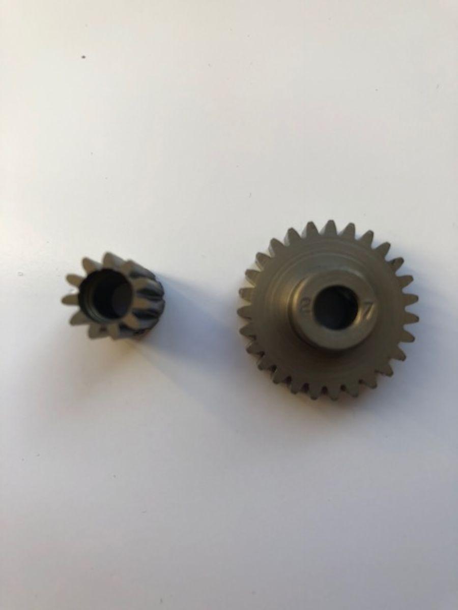CNC 32dp Steel Pinions, 5mm bore