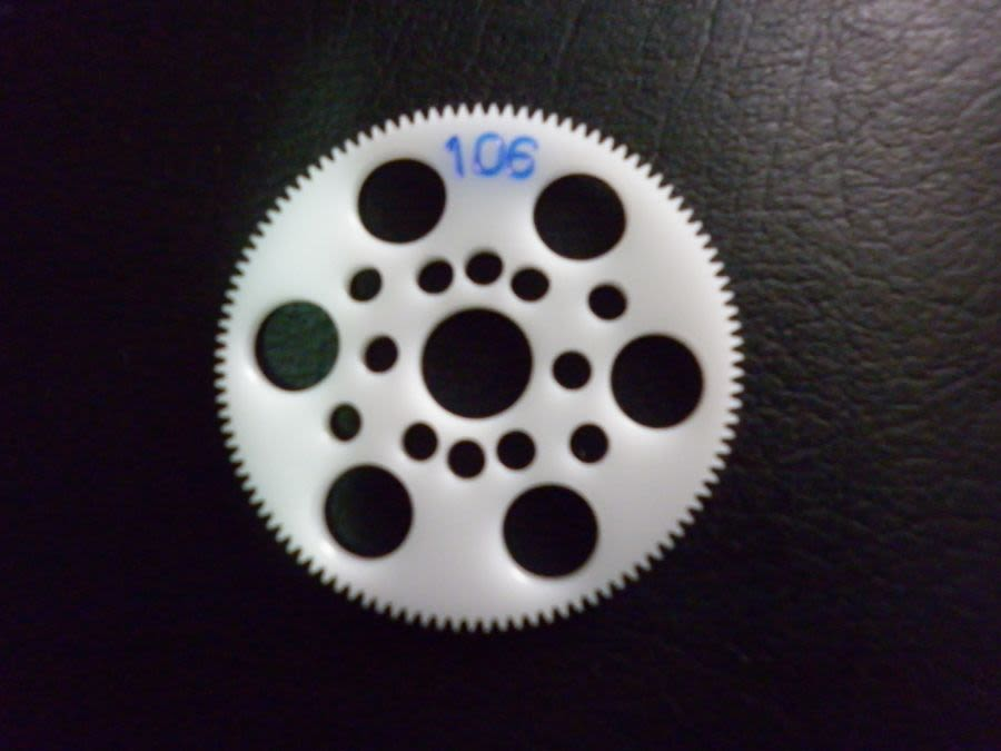 48DP Touring Car Acetal spur gears