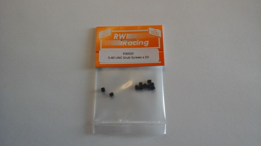 5/40 UNC x 1/8 Grub Screws, 10 off