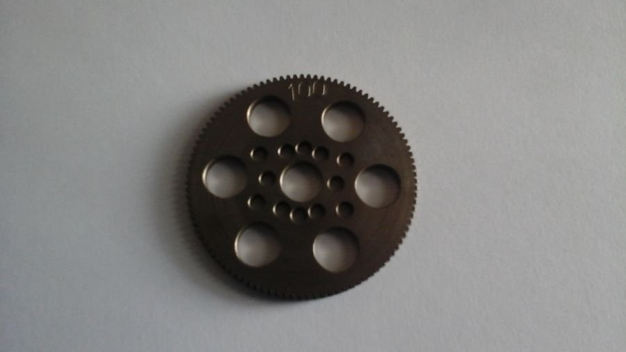 Hardened Steel Touring Car Spur Gear