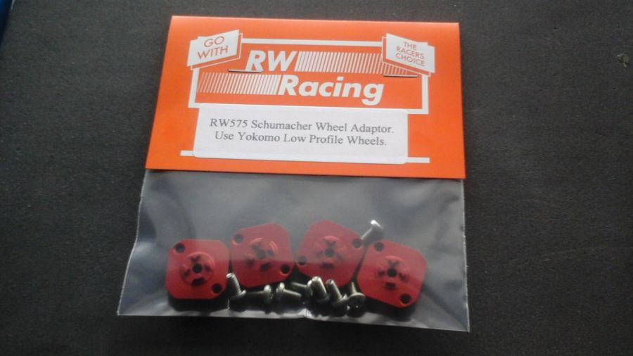 RW575 Schumacher to Yokomo Wheel Adaptors