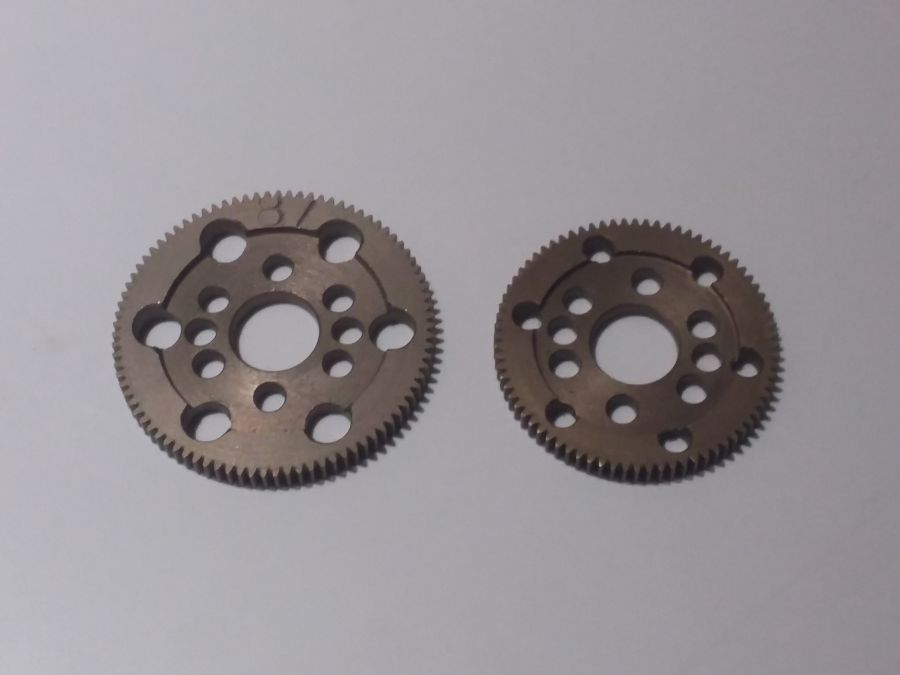 Hardened Steel 64dp X-Ray Style Spur Gear
