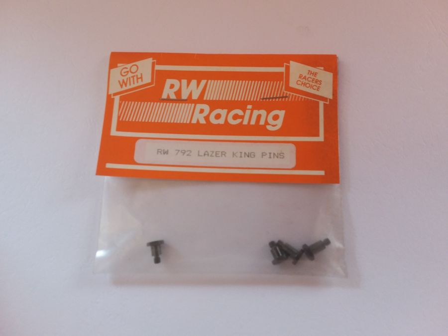 Kyosho Lazer King Pins, 2 Long & 2 Short