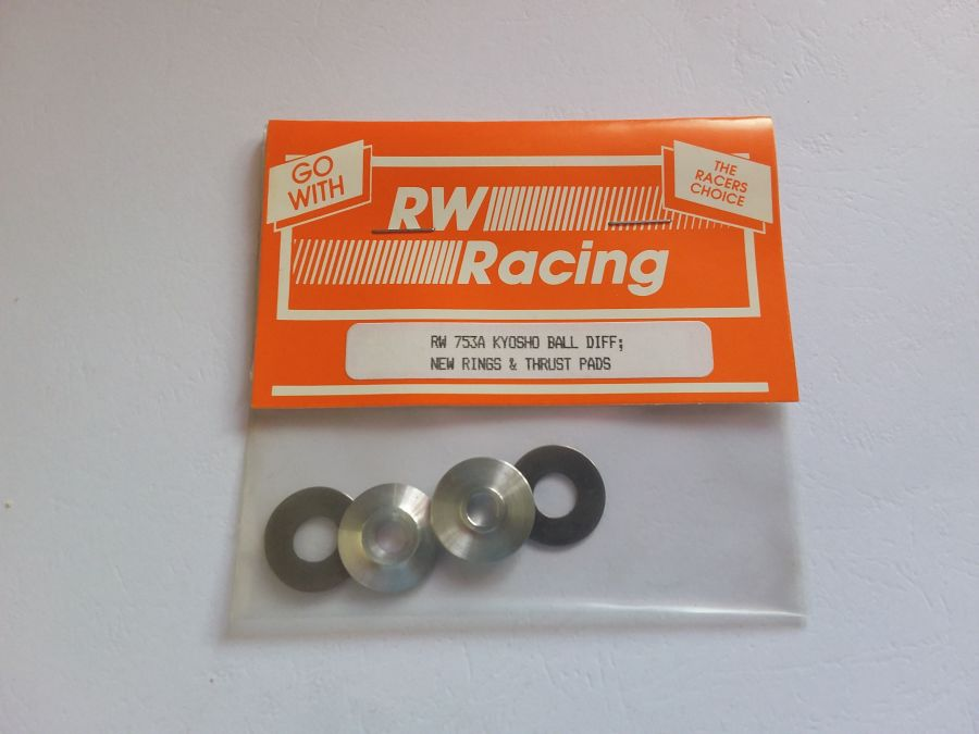 Kyosho Ball Diff, new rings and thrust pads