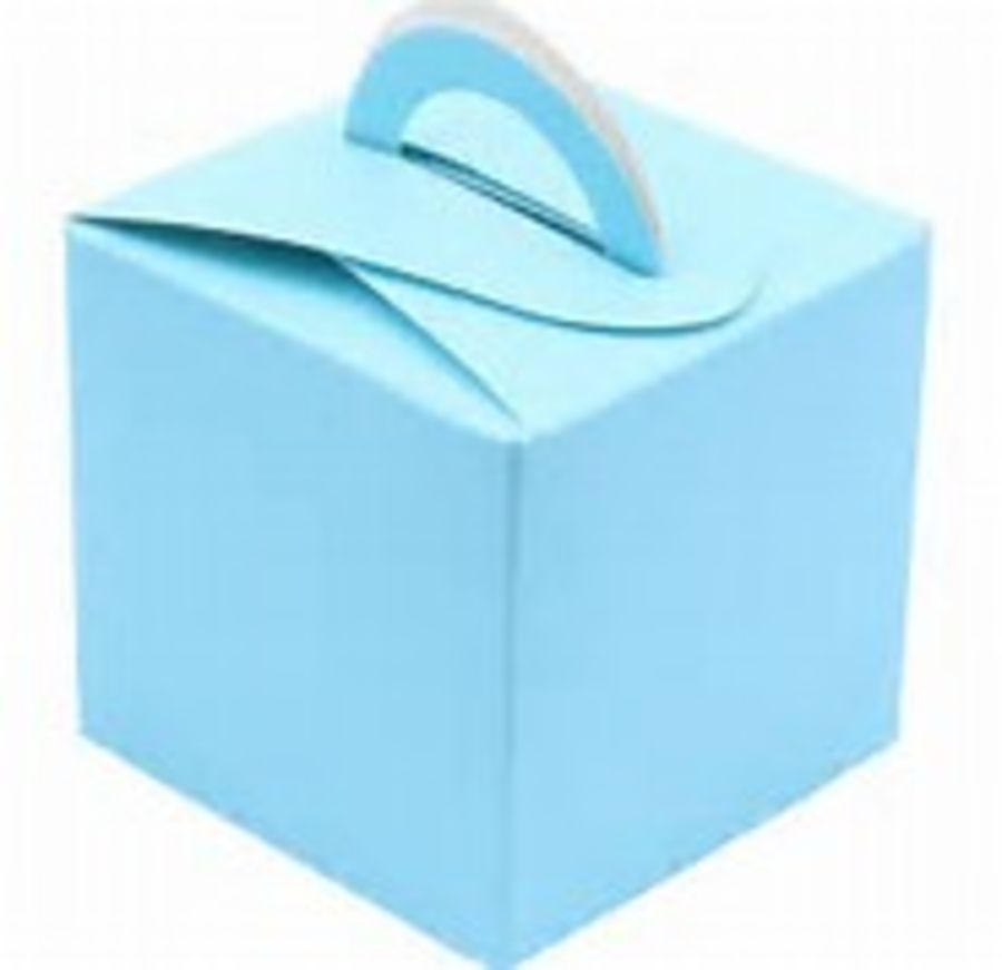 Balloon Weight / Gift Box - Light Blue